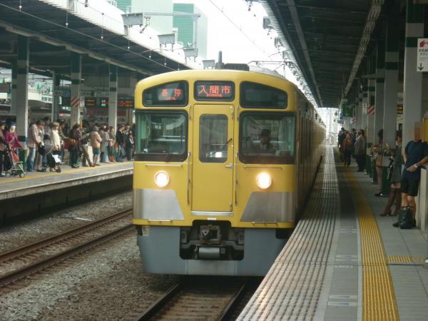 2013-11-03 西武2083F 各停入間市行き1