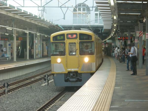 2013‐08‐09 西武2463F+2083F 準急池袋行き