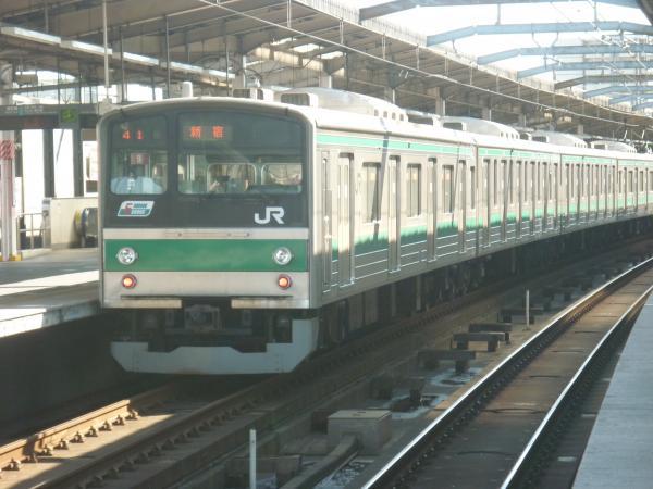 2013-10-27 埼京線205系ハエ9編成 新宿行き2