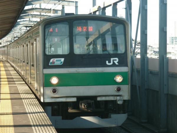 2013-10-27 埼京線205系ハエ9編成 新宿行き3