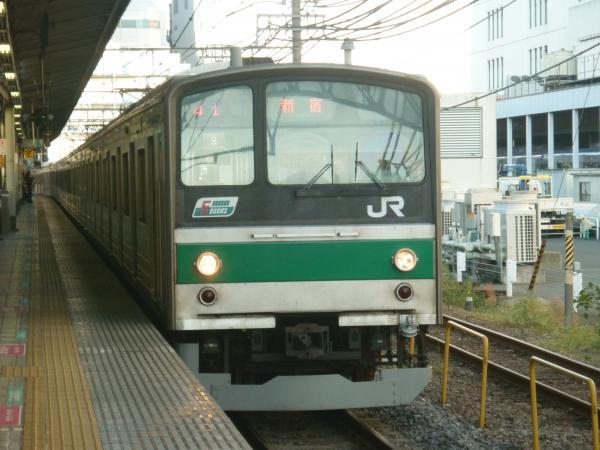 2013-10-27 埼京線205系ハエ9編成 新宿行き5
