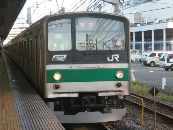 2013-10-27 埼京線205系ハエ9編成 新宿行き6