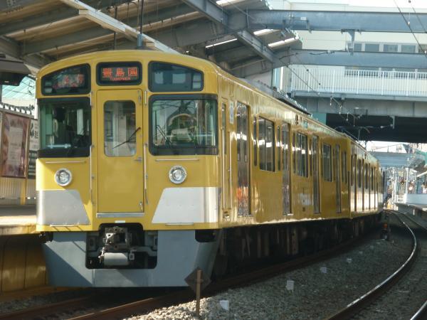 2013-11-16 西武2097F 各停豊島園行き2