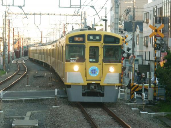 2013-11-16 西武9102F 急行飯能行き1