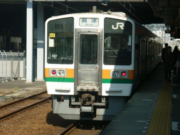 2013-11-17 静岡地区211系 興津行き