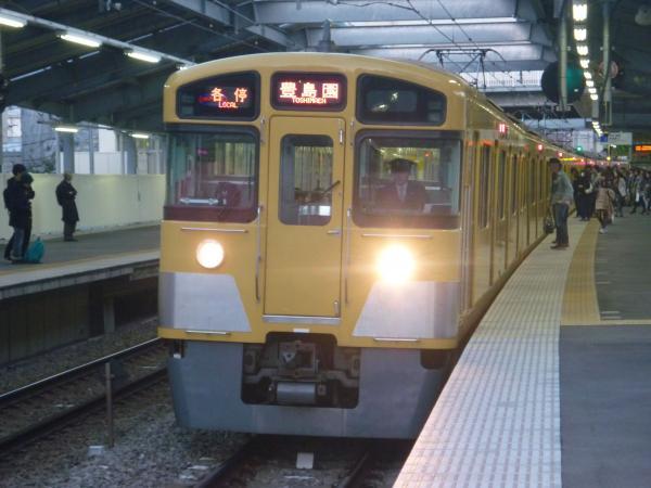 2013-11-20 西武2073F 各停豊島園行き2