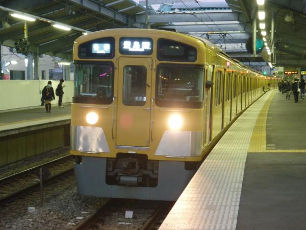 2013-11-20 西武2083F 各停豊島園行き2