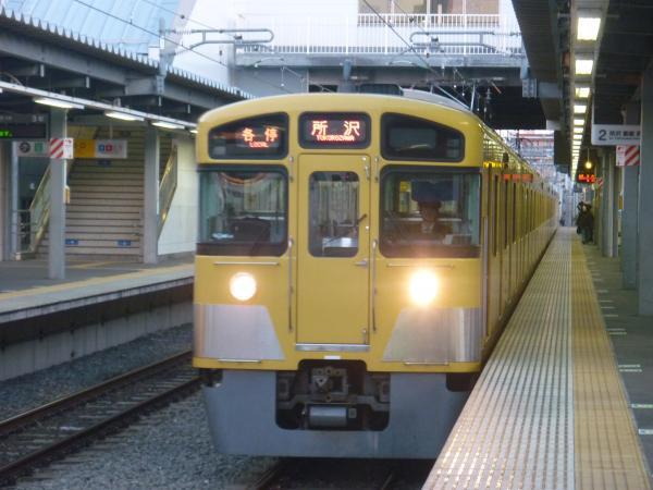 2013-11-20 西武2087F 各停所沢行き1