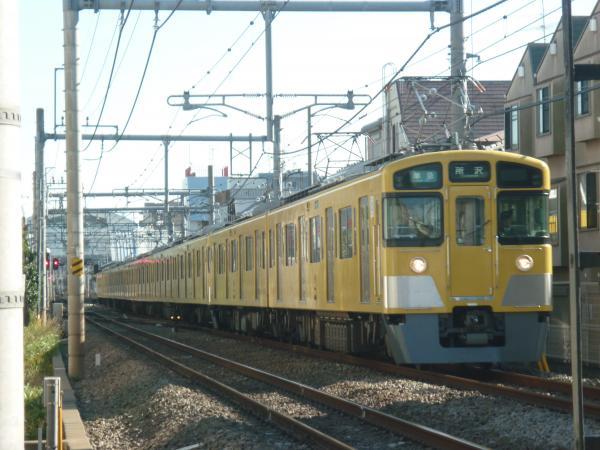 2013-11-20 西武2455F+2077F 準急所沢行き