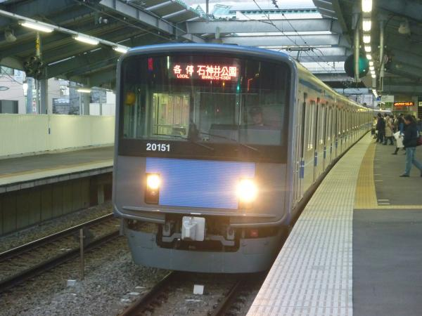2013-11-20 西武20151F 各停石神井公園行き