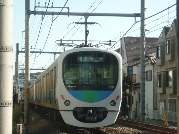 2013-11-20 西武32102F+38104F 準急池袋行き
