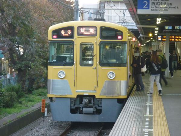 2013-11-23 西武2087F 各停飯能行き4