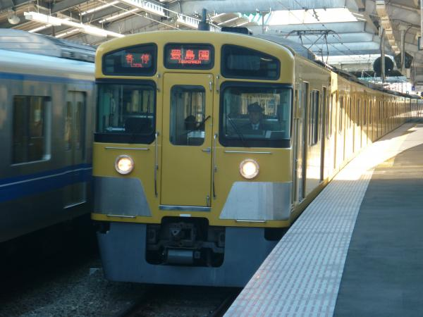 2013-11-23 西武2087F 各停豊島園行き2