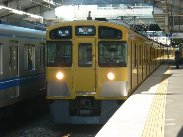 2013-11-23 西武2089F 各停保谷行き