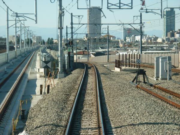 2013-11-23 石神井公園~大泉学園間の下り線2