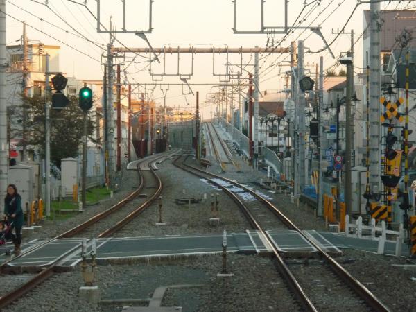 2013-11-23 大泉学園駅 石神井公園寄り先端
