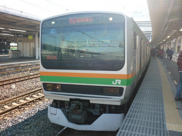 2013-11-24 E231系 湘南新宿ライン 快速宇都宮行き