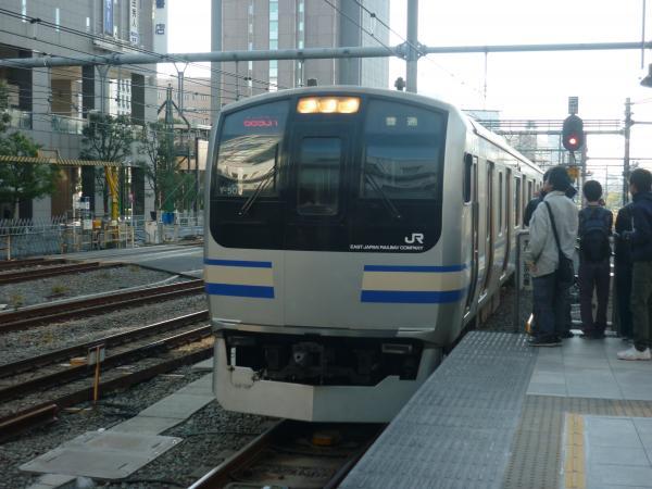 2013-11-24 横須賀線E217系 新宿行き1