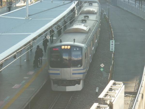 2013-11-24 横須賀線E217系 新宿行き2