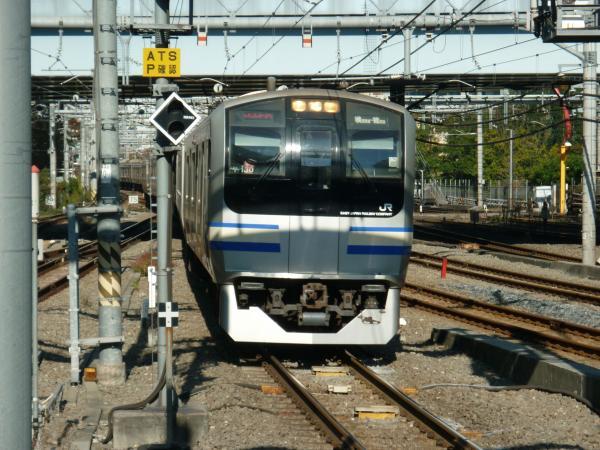 2013-11-24 横須賀線E217系 逗子行き4