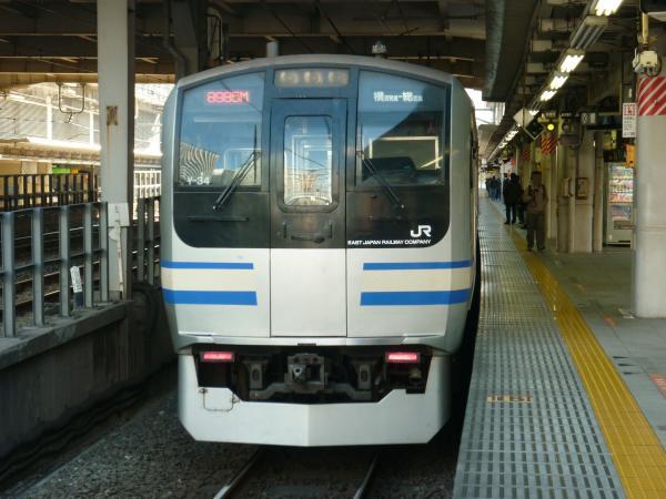 2013-11-24 横須賀線E217系 逗子行き5
