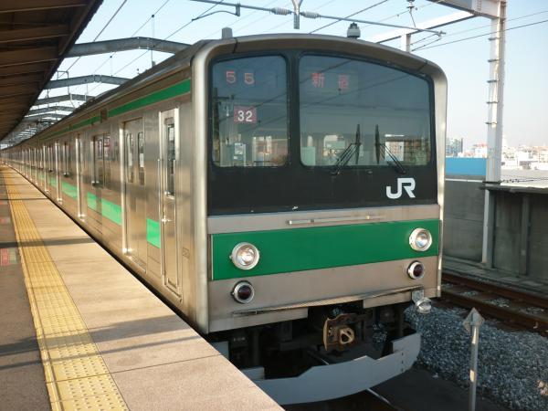 2013-11-24 埼京線205系ハエ32編成 新宿行き1