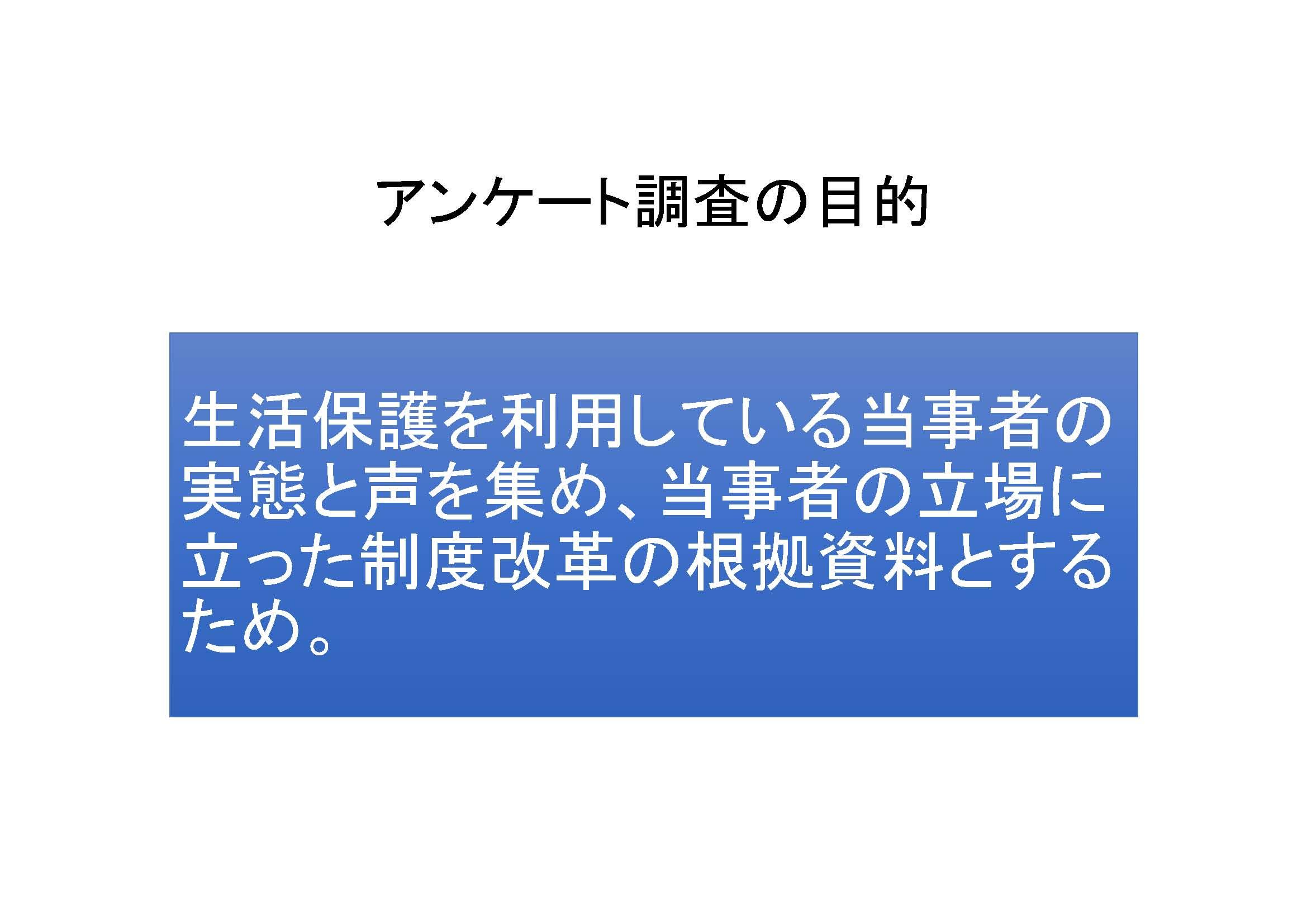 生活保護利用者緊急アンケート 02