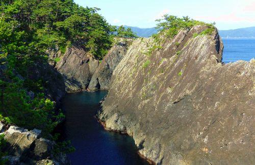 碁石海岸17雷岩