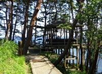 碁石海岸26穴通磯展望台