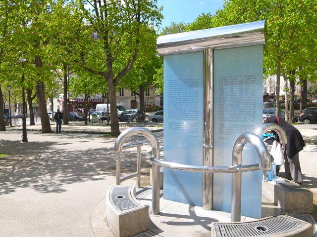パリ 水汲み場2