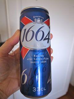 パリ 1664ビール