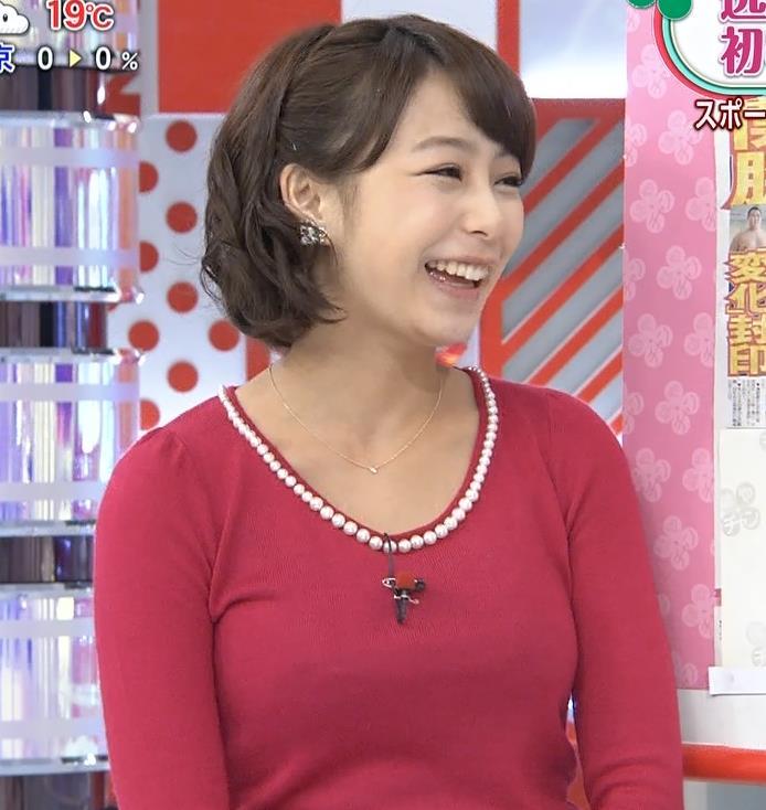 宇垣美里 巨乳はタイトな服を着たがる