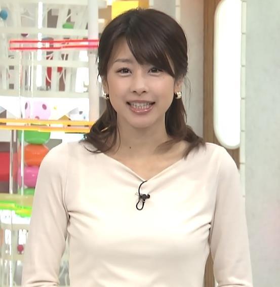 加藤綾子 おっぱいキャプ・エロ画像2