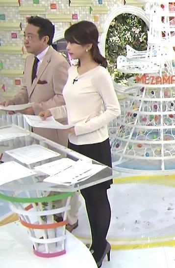 加藤綾子 おっぱいキャプ・エロ画像3