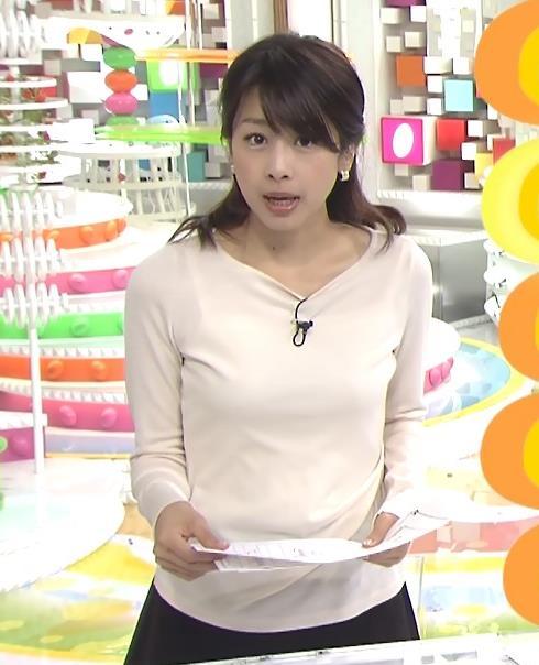 加藤綾子 おっぱいキャプ・エロ画像4
