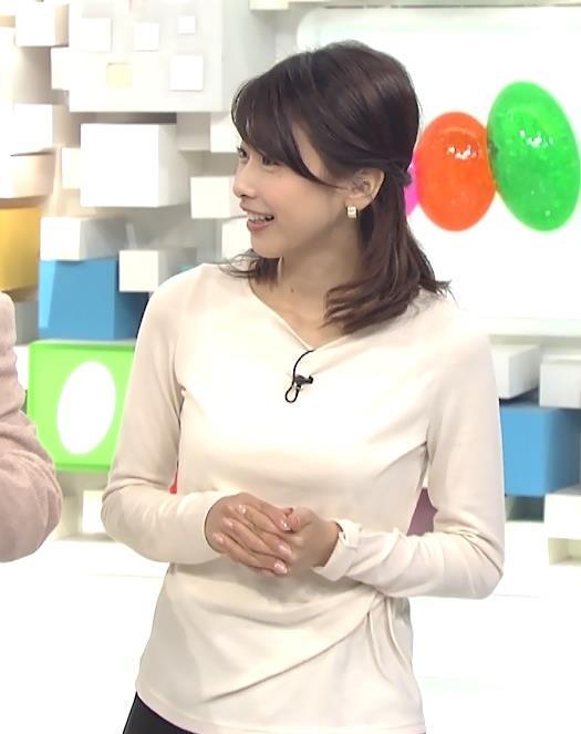 加藤綾子 おっぱいキャプ・エロ画像6