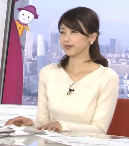 加藤綾子 おっぱいキャプ・エロ画像7
