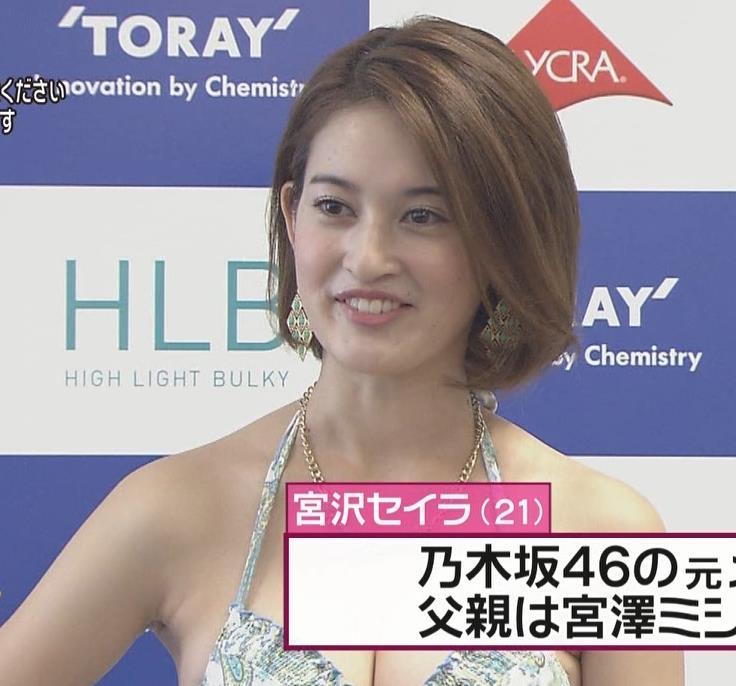 宮沢セイラ 水着キャプ・エロ画像3