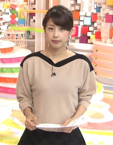 加藤綾子 ポニーテールがかわいいキャプ・エロ画像2