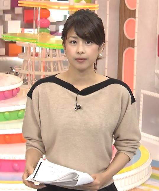 加藤綾子 ポニーテールがかわいいキャプ・エロ画像3