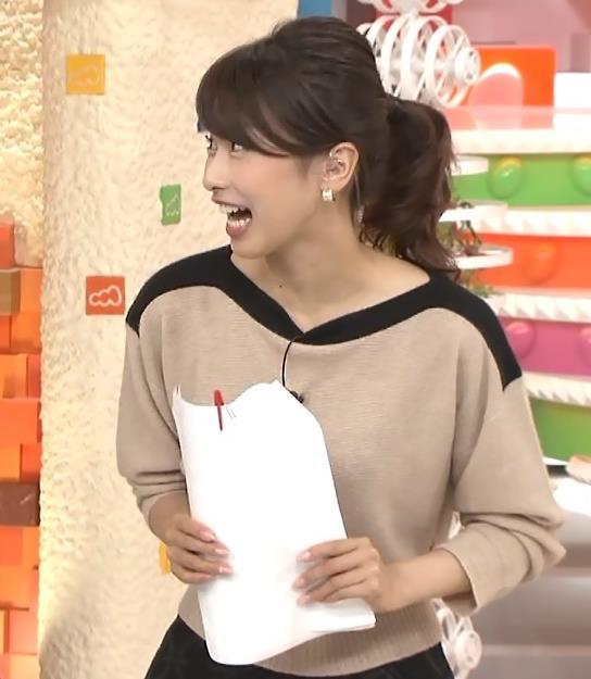 加藤綾子 ポニーテールがかわいいキャプ・エロ画像4