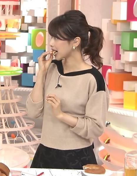 加藤綾子 ポニーテールがかわいいキャプ・エロ画像5