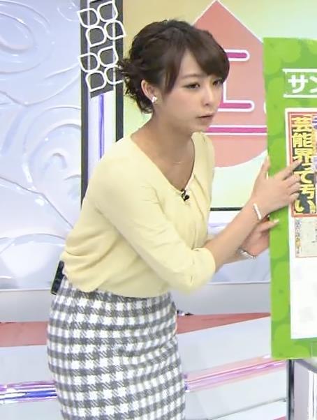 宇垣美里 ミニスカートキャプ・エロ画像3