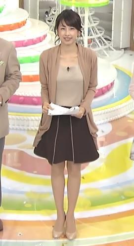 加藤綾子 胸元キャプ・エロ画像3
