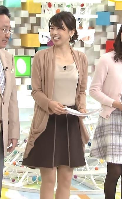 加藤綾子 胸元キャプ・エロ画像4