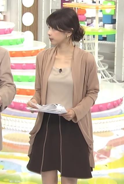 加藤綾子 胸元キャプ・エロ画像9