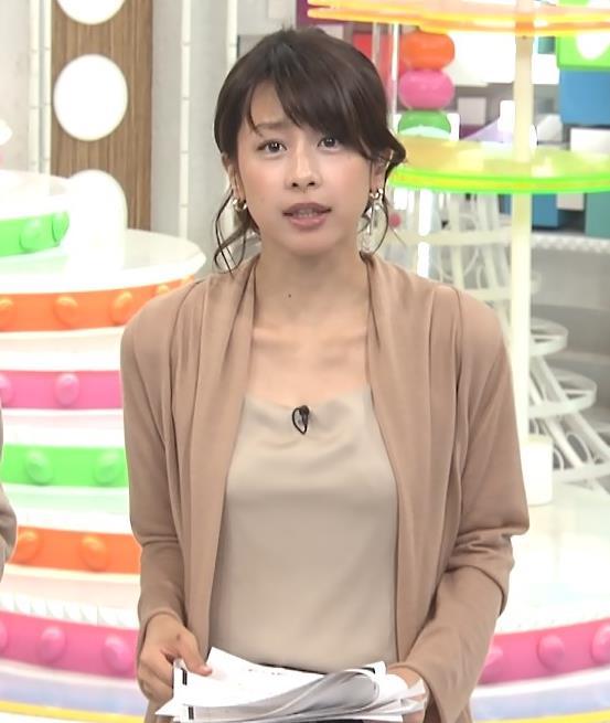 加藤綾子 胸元キャプ・エロ画像10