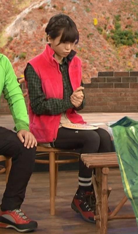 釈由美子 山ガール姿キャプ・エロ画像5