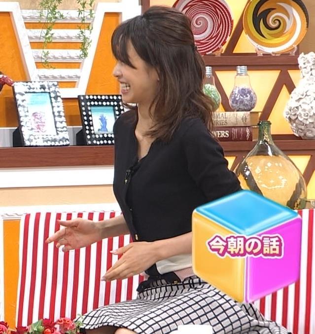 加藤綾子 ちょっと股を開いてるキャプ・エロ画像3