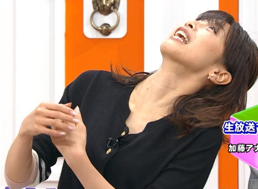 加藤綾子 ちょっと股を開いてるキャプ・エロ画像4